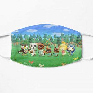 Original Animal Crossing Mug Flat Mask RB3004product Offical Animal Crossing Merch