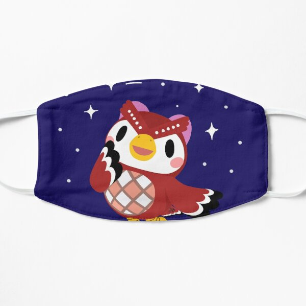 Celeste and the stars! Flat Mask RB3004product Offical Animal Crossing Merch