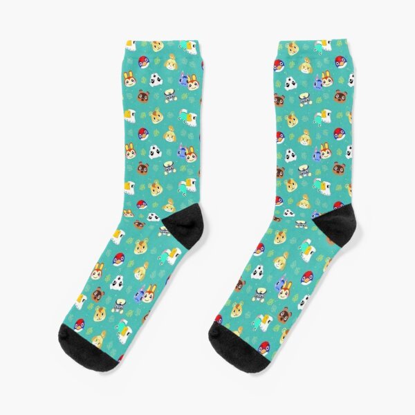 animal crossing pattern Socks RB3004product Offical Animal Crossing Merch