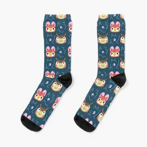Animal Crossing - Celeste and Blathers Socks RB3004product Offical Animal Crossing Merch
