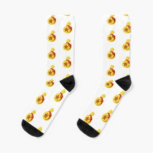 Animal Crossing's bells  Socks RB3004product Offical Animal Crossing Merch