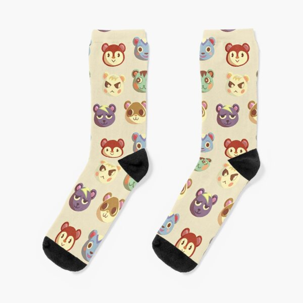 Animal Crossing - Squirrels Socks RB3004product Offical Animal Crossing Merch