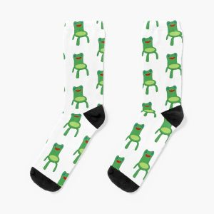 Froggy Chair Socks RB3004product Offical Animal Crossing Merch