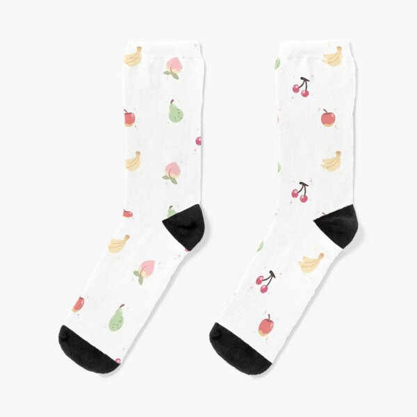 Cute Fruits Socks RB3004product Offical Animal Crossing Merch