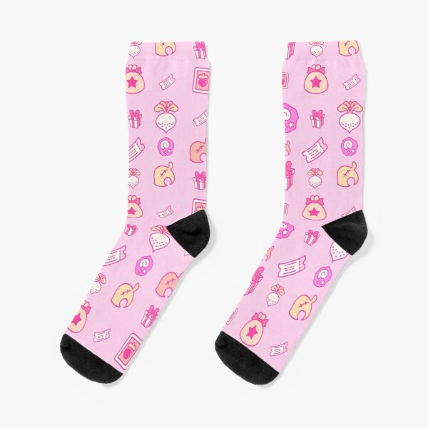 Animal crossing repeating pattern Socks RB3004product Offical Animal Crossing Merch