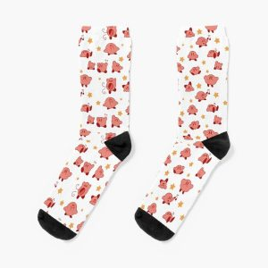Kirby Pattern Socks RB3004product Offical Animal Crossing Merch